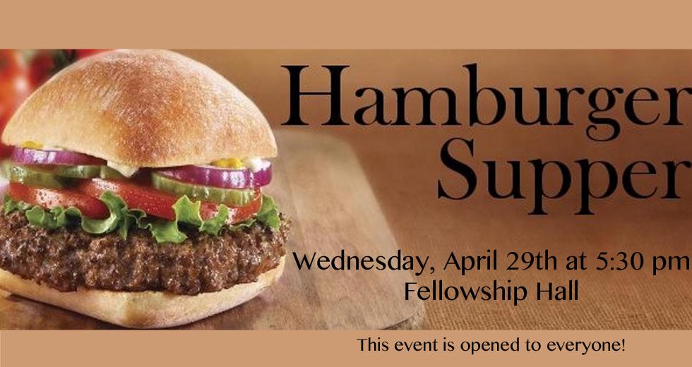 hamburger supper website